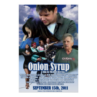 Onion Syrup Poster II