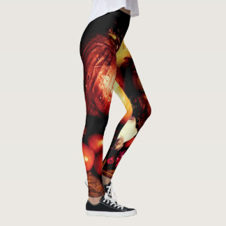 Onions and Tomatoes Leggings