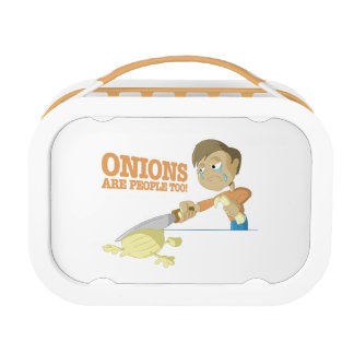 Onions Are People Too Lunch Box