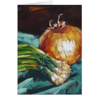 Onions Card
