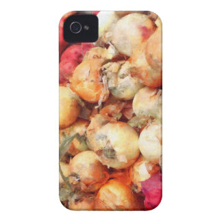 Onions Closeup iPhone 4 Case