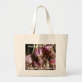 Onions for Lunch?, Jumbo Tote Bag