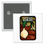 Onions Pinback Buttons
