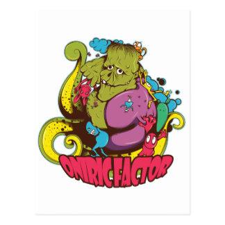 Oniric Factor Merchandising Postcards