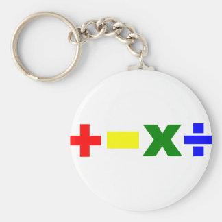 Onizuka Maths Basic Round Button Key Ring