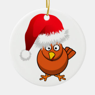 Online Farming Christmas Chicken Christmas Ornament