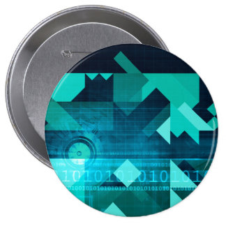 Online Marketing for Business Customer Online 10 Cm Round Badge