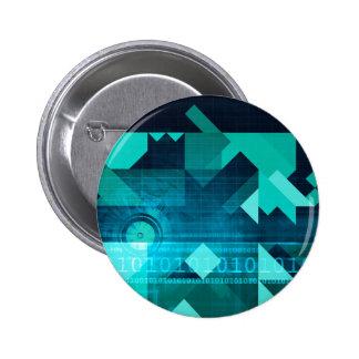 Online Marketing for Business Customer Online 6 Cm Round Badge