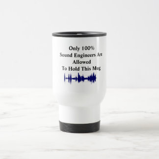 Only 100%Sound Engineers Mug
