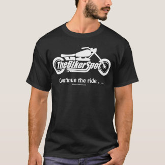 Only a biker knows why a dog sticks his head out o T-Shirt