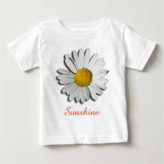 Only a Marguerite Blossom + your text & ideas Baby T-Shirt