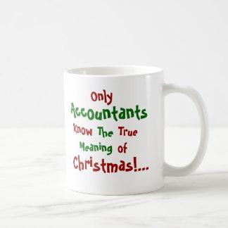 Only Accountants...Christmas - Double-sided Coffee Mug