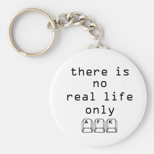Only AFK Key Chain