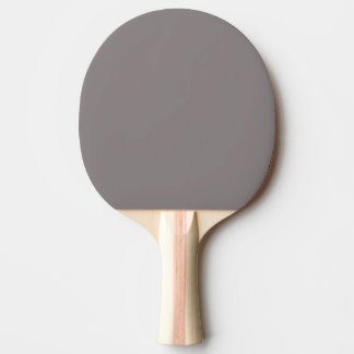 Only aluminum gray rustic solid color ping pong paddle