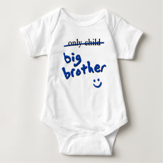 Only Child / Big Brother Baby Bodysuit