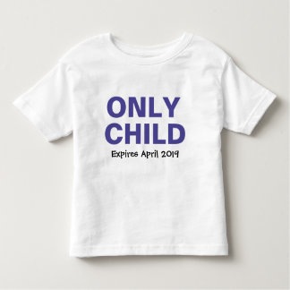 Only Child Blue Personalized2 T-shirt