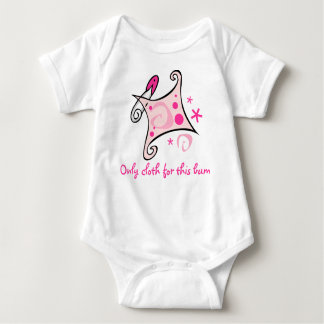 Only cloth for this bum baby bodysuit