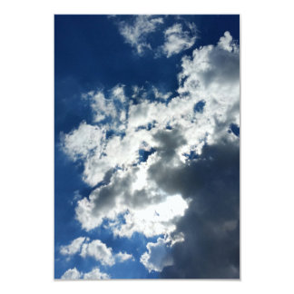 Only clouds card