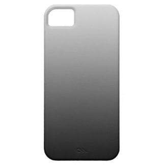 ONLY COLOR gradients - black grey iPhone 5 Cases