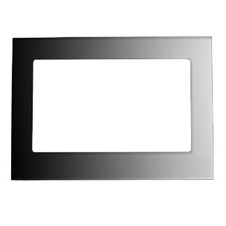 ONLY COLOR gradients - black grey Magnetic Frame