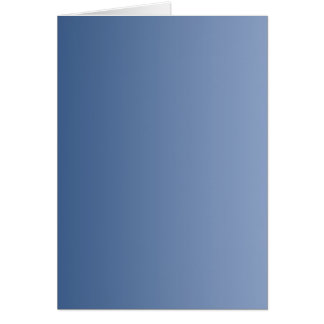 ONLY COLOR gradients - blue Greeting Card