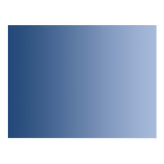 ONLY COLOR gradients - blue Postcard