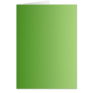 ONLY COLOR gradients - green Greeting Card