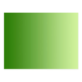 ONLY COLOR gradients - green Postcard