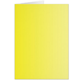 ONLY COLOR gradients - lemon Greeting Card