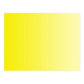 ONLY COLOR gradients - lemon Postcard