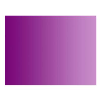 ONLY COLOR gradients - magenta Postcard