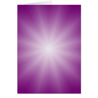 ONLY COLOR gradients - magenta Star Greeting Card