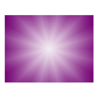 ONLY COLOR gradients - magenta Star Postcard