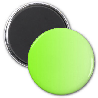 ONLY COLOR gradients - neon green 6 Cm Round Magnet