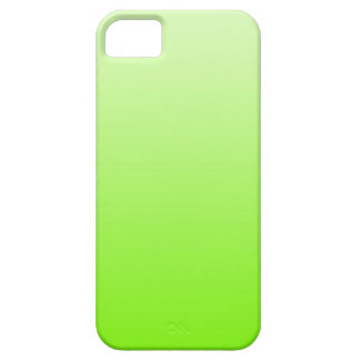 ONLY COLOR gradients - neon green Case For The iPhone 5