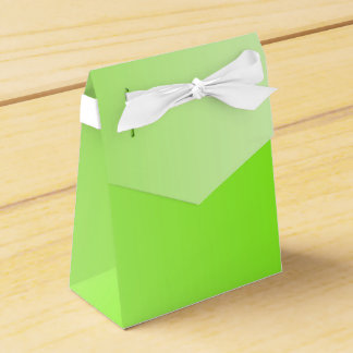 ONLY COLOR gradients - neon green Party Favour Box