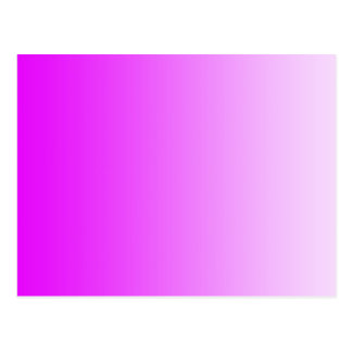 ONLY COLOR gradients - neon pink Postcard
