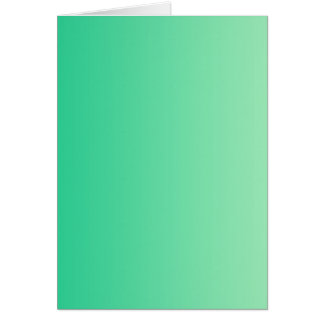 ONLY COLOR gradients - ocean green Greeting Card