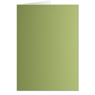ONLY COLOR gradients - olive green Greeting Card