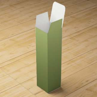 ONLY COLOR gradients - olive green Wine Boxes