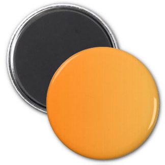 ONLY COLOR gradients - orange 6 Cm Round Magnet