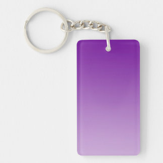 ONLY COLOR gradients - PUR-polarizes Double-Sided Rectangular Acrylic Key Ring