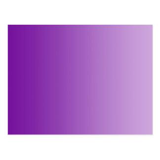 ONLY COLOR gradients - purple Postcard