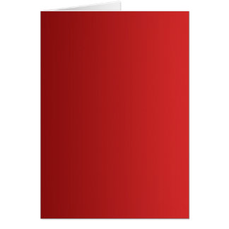 ONLY COLOR gradients - red Greeting Card