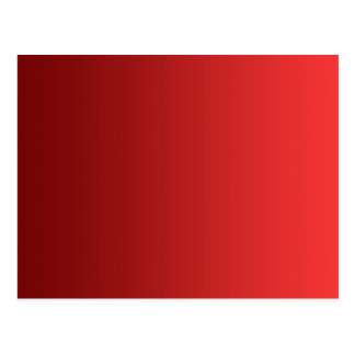ONLY COLOR gradients - red love Postcard