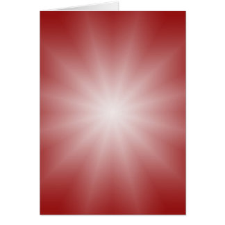 ONLY COLOR gradients - red love star Greeting Card