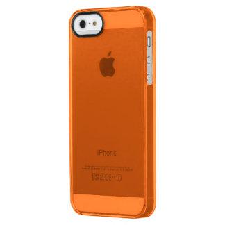 Only cool orange tangerine pumpkin solid OSCB25 iPhone 6 Plus Case