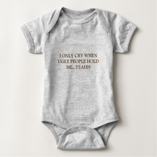 only cry baby bodysuit