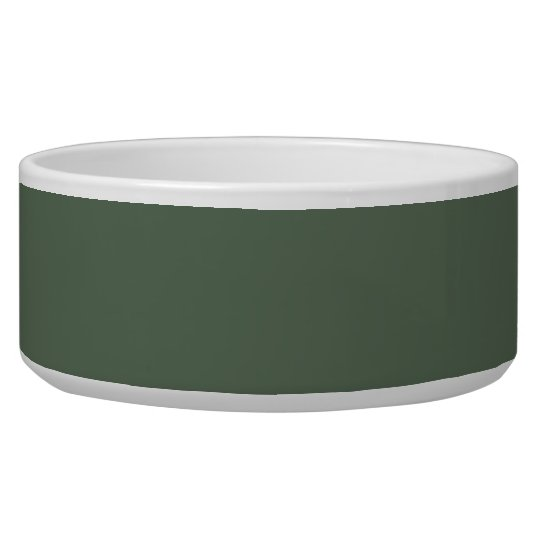 Only cypress green gorgeous solid colour dog food bowls