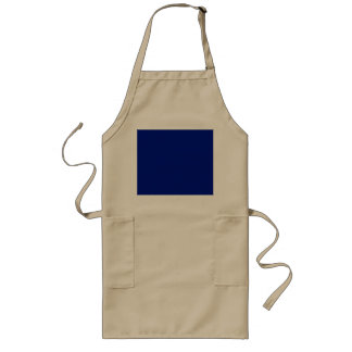 Only Dark blue solid color Apron